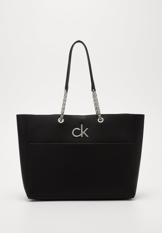 RELOCK SHOPPER - Handväska - black