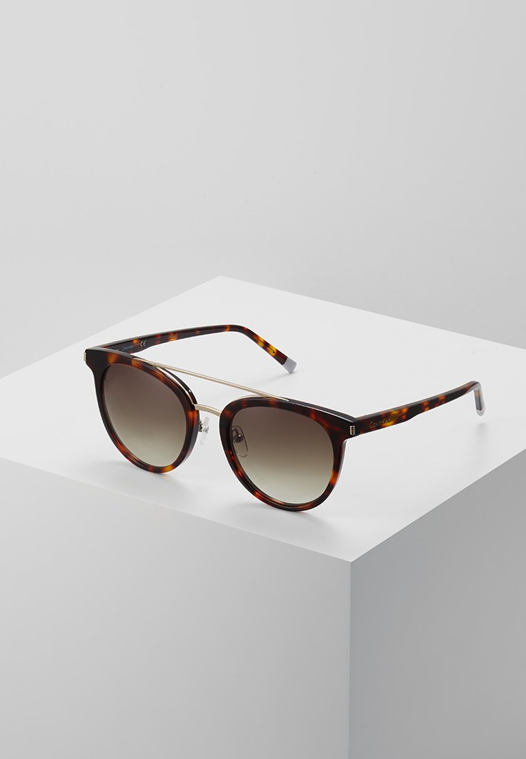 Calvin Klein - Sunglasses - burnt havana
