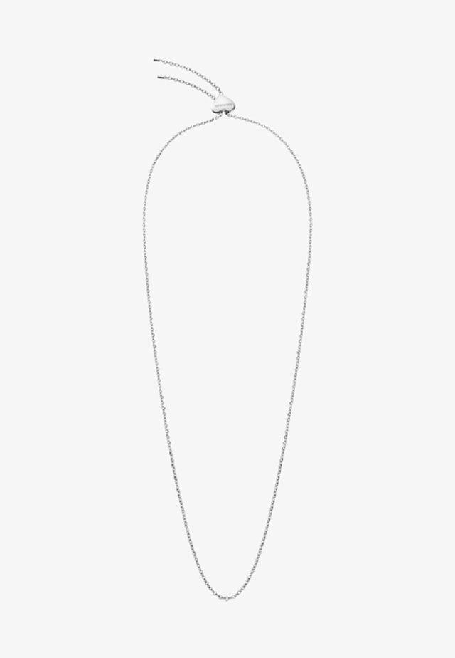 Halskette - silver-coloured