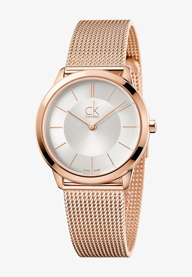 MINIMAL - Uhr - rosegold-colored