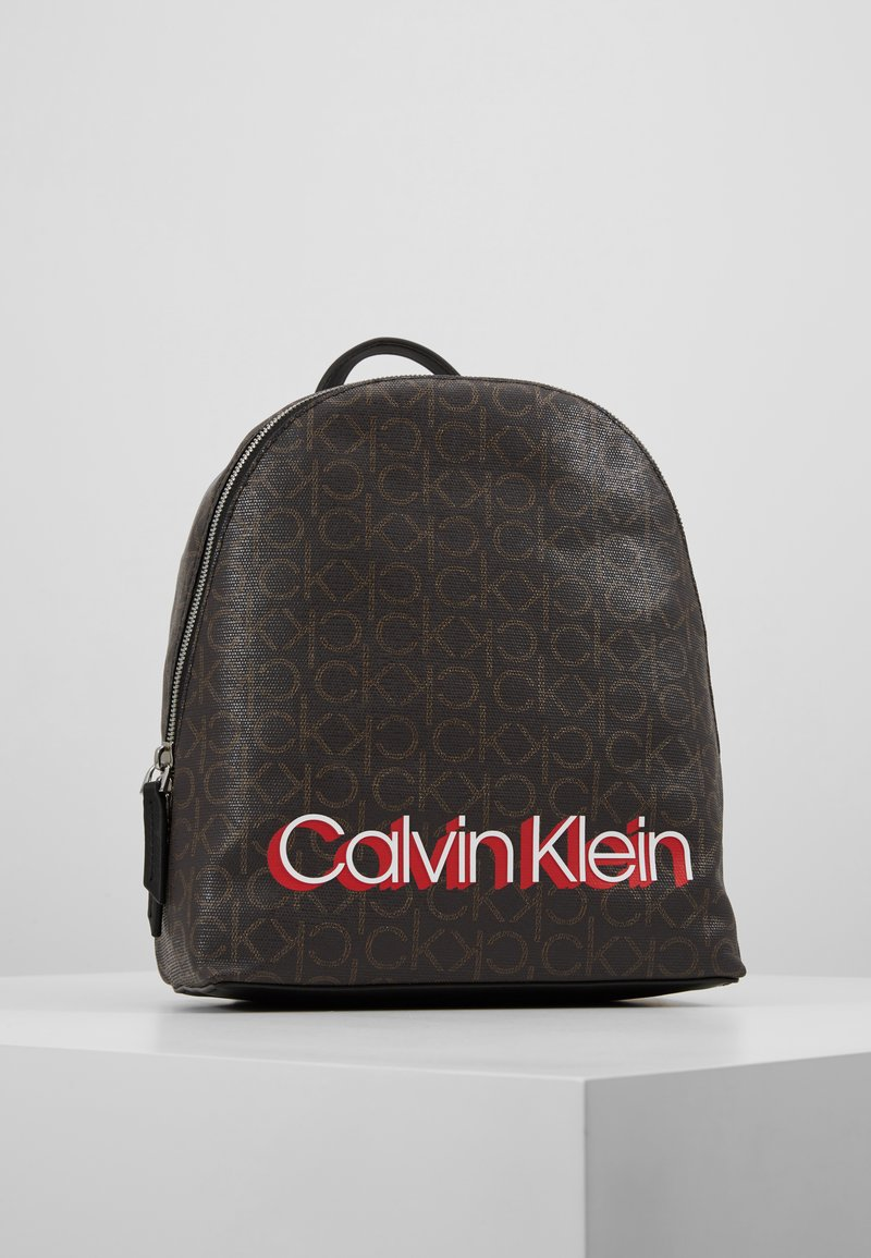 Calvin Klein - MONOGRAM BACKPACK - Mochila - brown