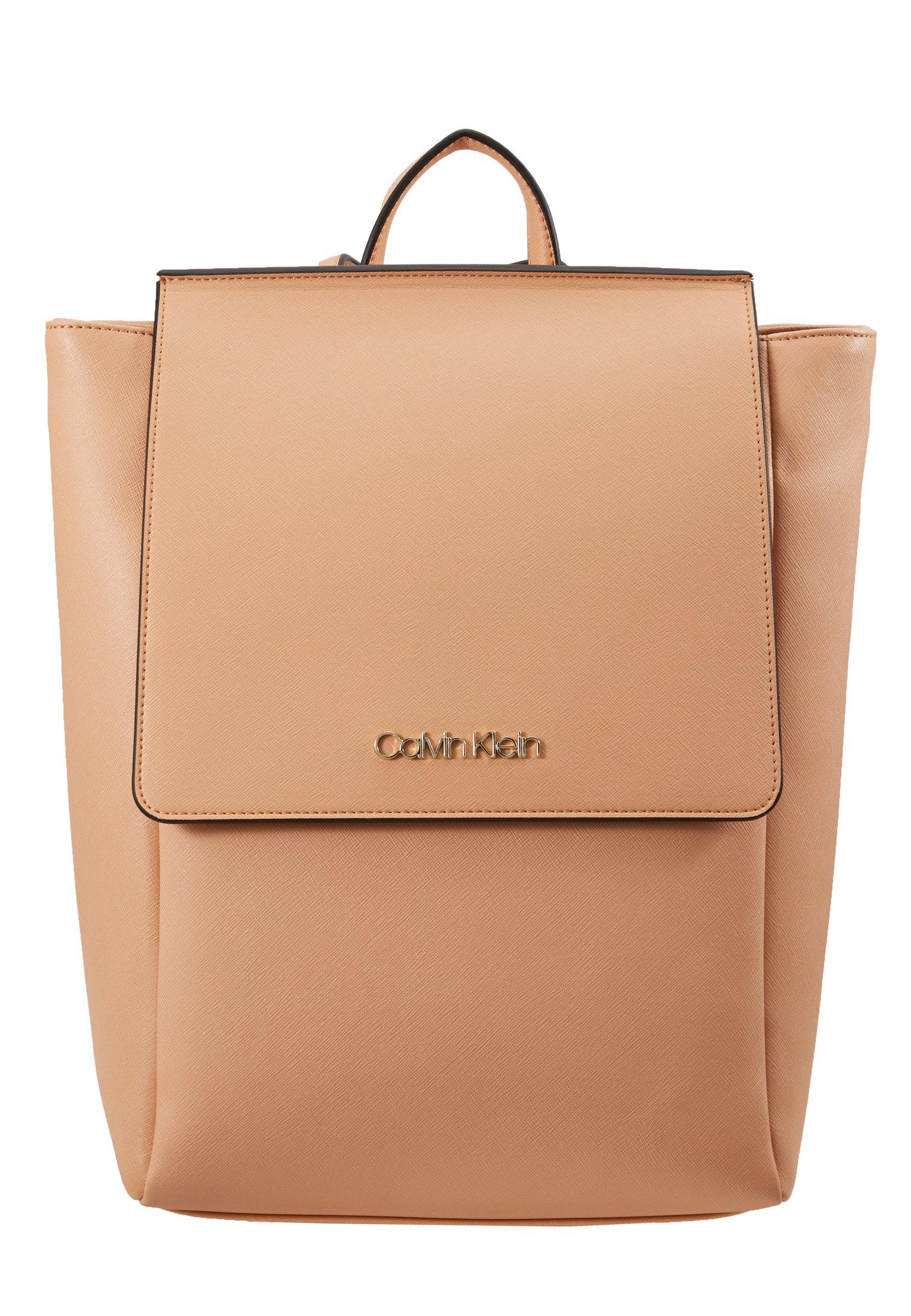 Calvin Klein TASK BACKPACK - Ryggsäck - brown