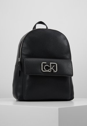 SIGNATURE BACKPACK - Reppu - black