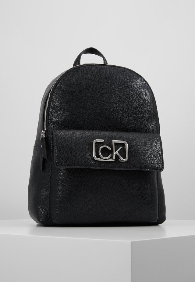 SIGNATURE BACKPACK - Tagesrucksack - black