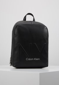 Calvin Klein - SHAPED BACKPACK - Reppu - black - 0