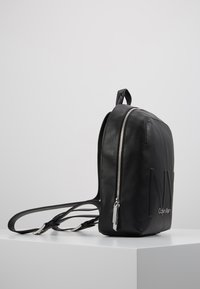 Calvin Klein - SHAPED BACKPACK - Reppu - black - 3
