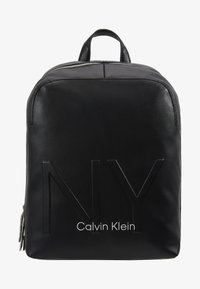 Calvin Klein - SHAPED BACKPACK - Reppu - black - 5