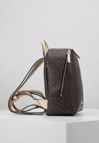 Calvin Klein - MONO BACKPACK  - Batoh - brown - 4