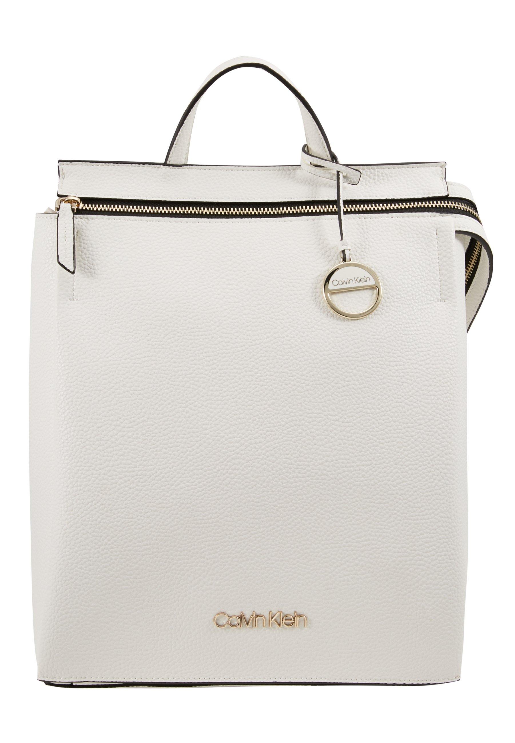 Calvin Klein SIDED BACKPACK - Ryggsäck - white