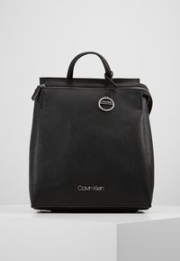 Calvin Klein - SIDED BACKPACK - Ryggsekk - black - 0