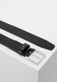 Calvin Klein - FORMAL BELT  - Formální pásek - black - 2