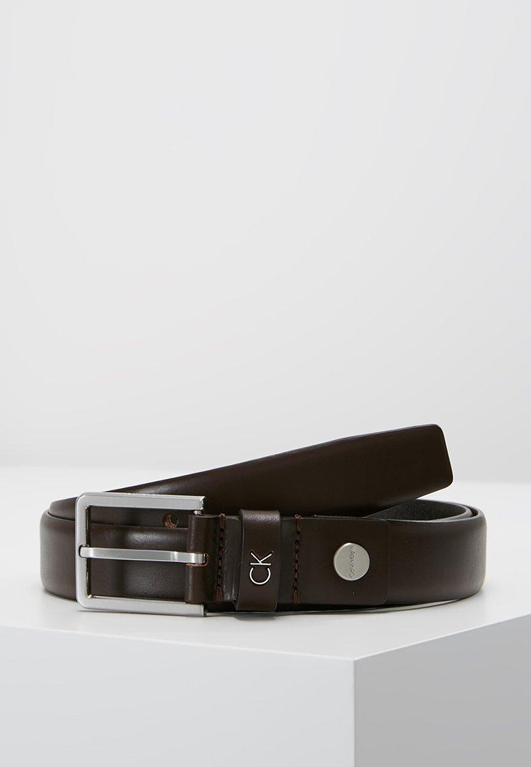 Calvin Klein - FORMAL BELT - Pasek - brown