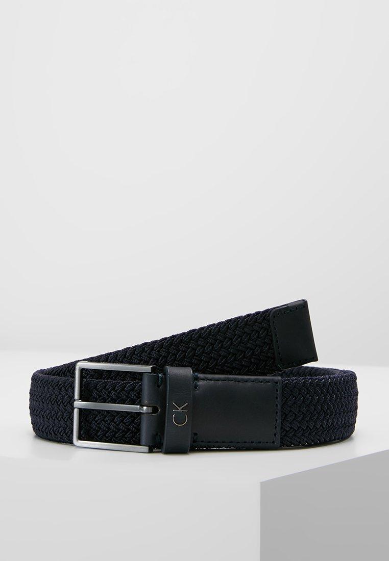 Calvin Klein - FORMAL ELASTIC BELT - Pásek - blue