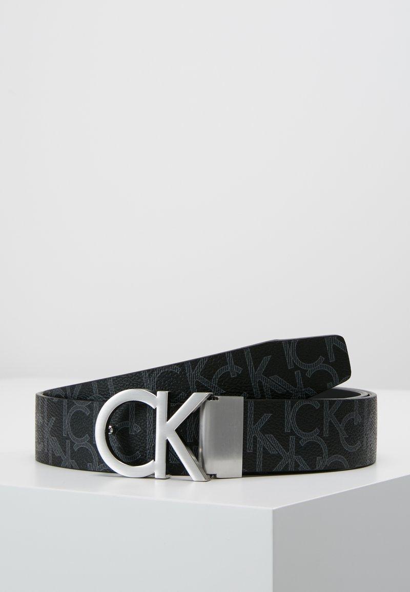 Calvin Klein - MONOGRAM BELT  - Ceinture - black