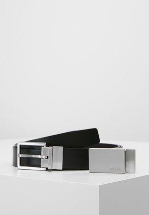 FORMAL GIFTSET - Belt business - black