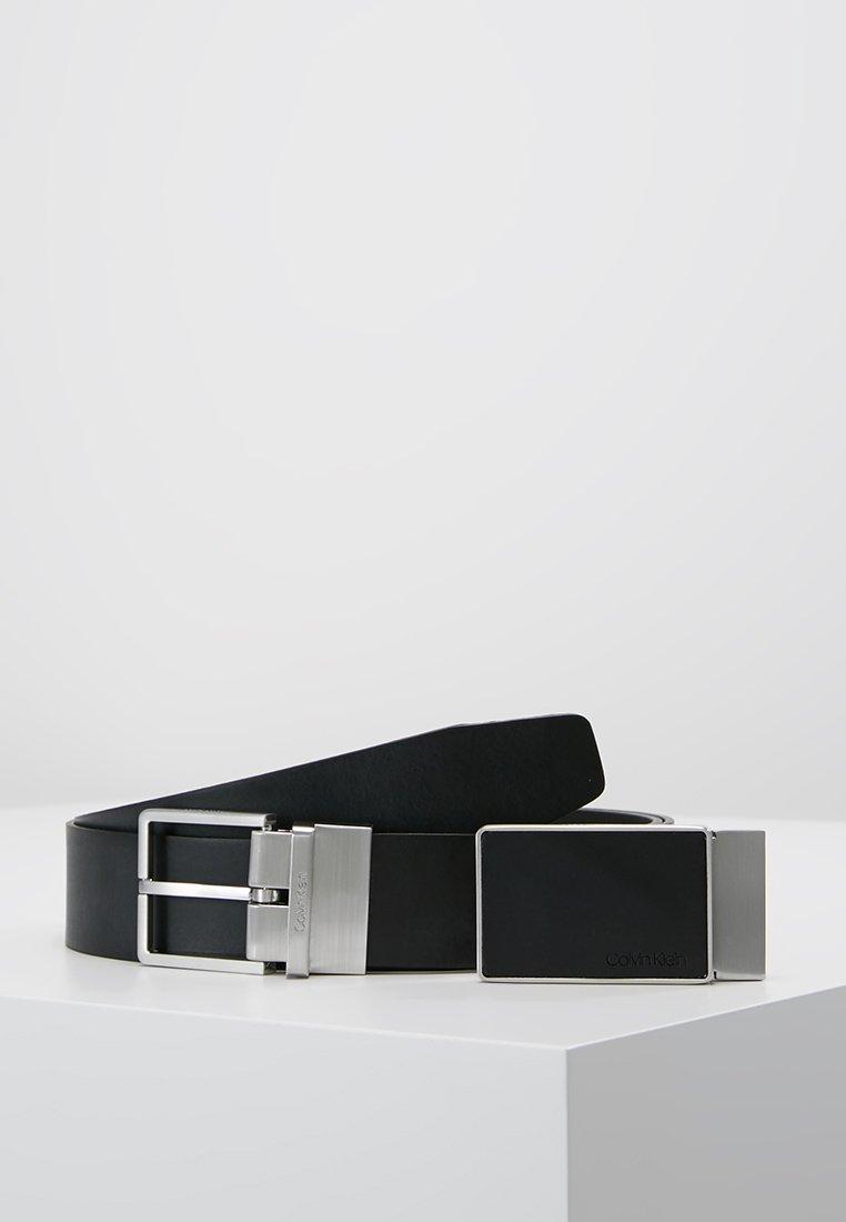 Calvin Klein - CASUAL GIFT SET - Belt business - black