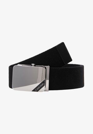 WEBBING PLAQUE BELT - Gürtel - black