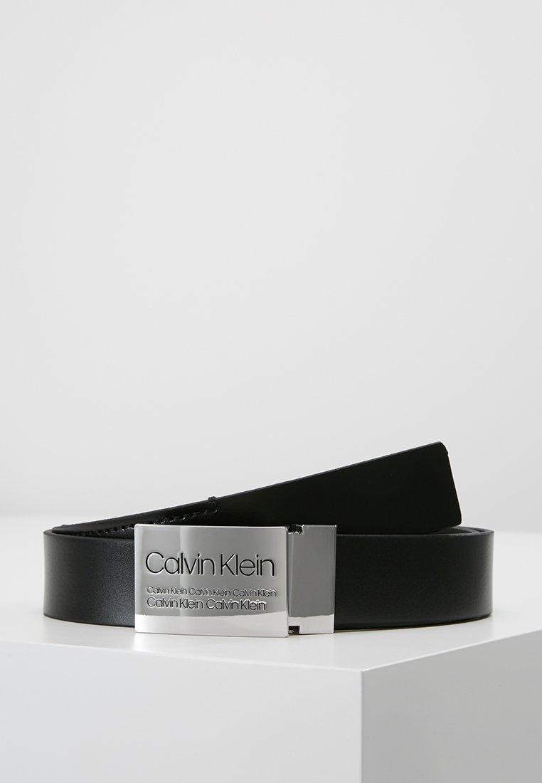 Calvin Klein - INDUSTRIAL PLAQUE BELT - Riem - black