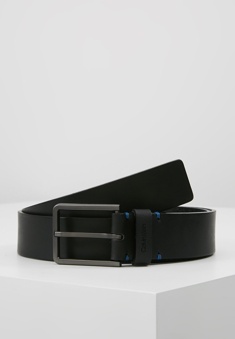 Calvin Klein - ESSENTIAL PLUS BELT - Cintura - black