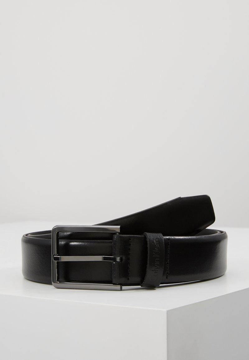 Calvin Klein - BOMBED BELT - Pásek - black