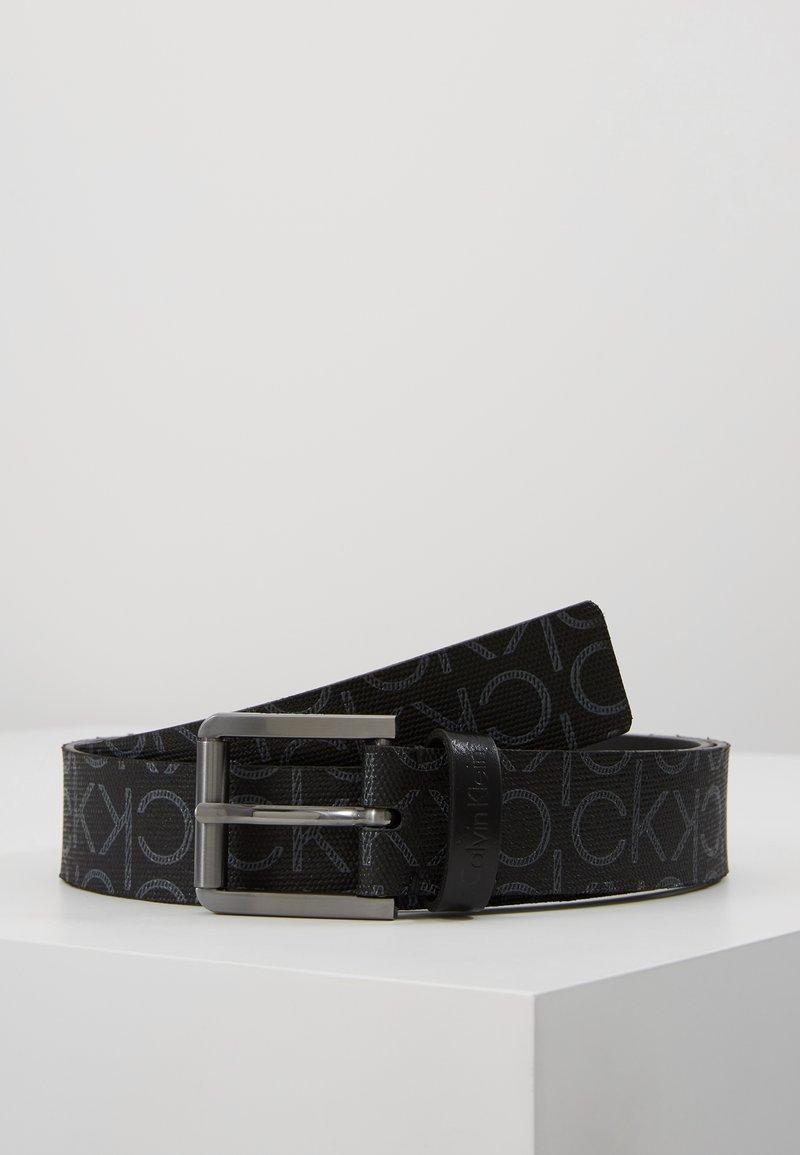 Calvin Klein - SEASONAL MONO BELT - Gürtel - black