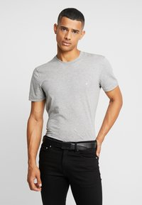 Calvin Klein - CARBON GIFTSET WALLET BELT SET - Cintura - black - 1