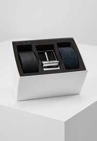 Calvin Klein - 2 PACK STRAPS GIFT SET - Cinturón - black - 0