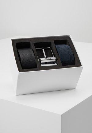 2 PACK STRAPS GIFT SET - Cintura - black