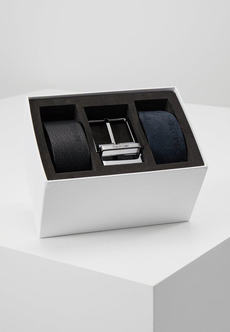 Calvin Klein - 2 PACK STRAPS GIFT SET - Cinturón - black