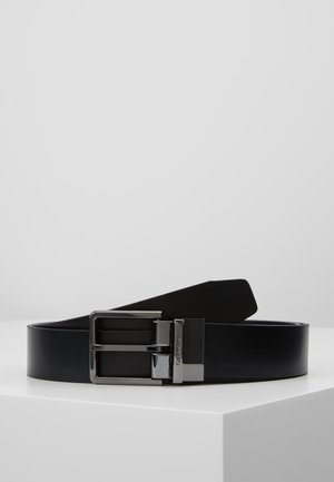 LOGO BELT - Cinturón - black