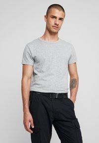 Calvin Klein - LOGO BELT - Cinturón - black - 1