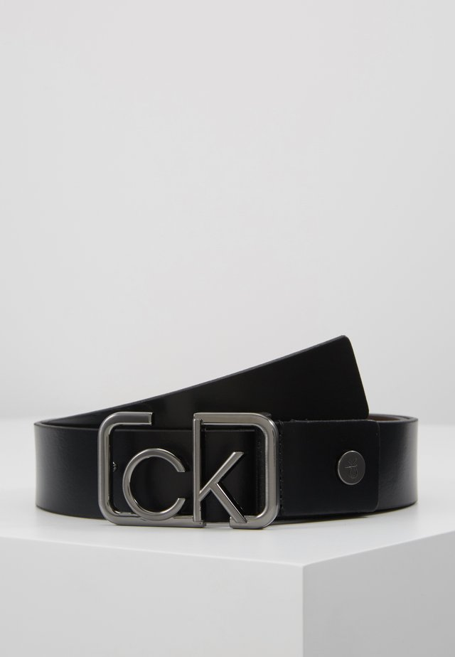 SIGNATURE BELT - Ceinture - black