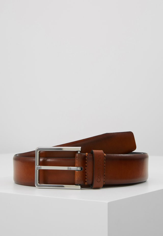 BOMBED BELT - Ceinture - brown