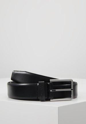 BOMBED BELT - Cinturón - black