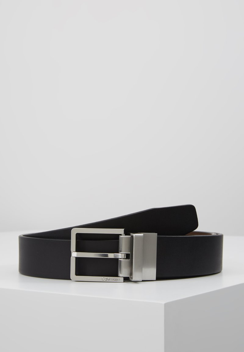 Calvin Klein - CASUAL BELT - Cinturón - black