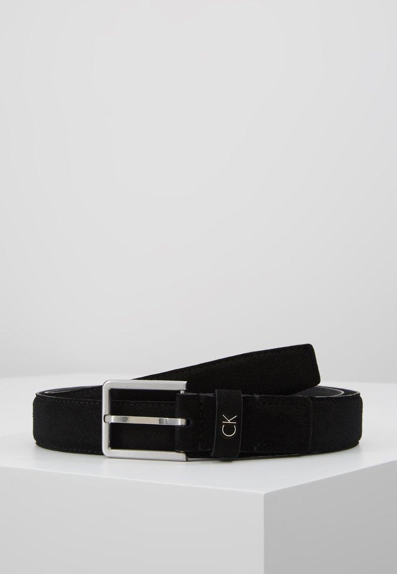 Calvin Klein - FORMAL BELT - Cintura - black