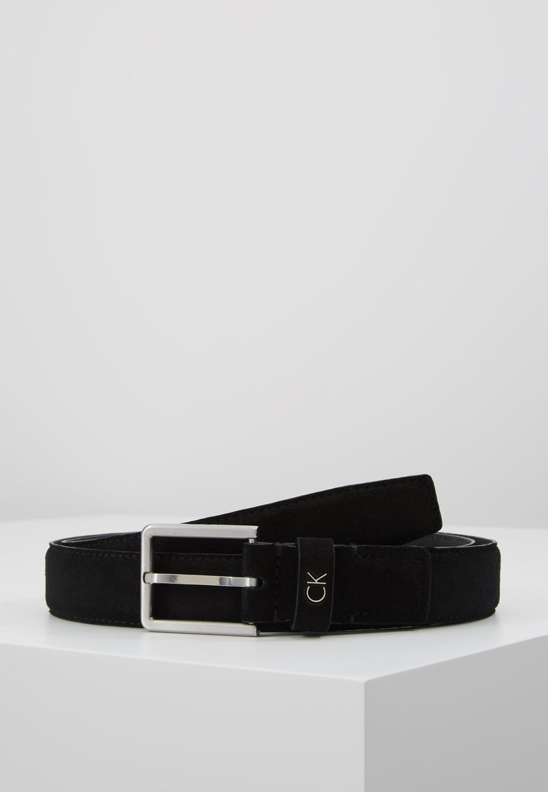 Calvin Klein - FORMAL BELT - Pasek - black