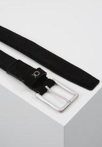 Calvin Klein - FORMAL BELT - Cintura - black - 2