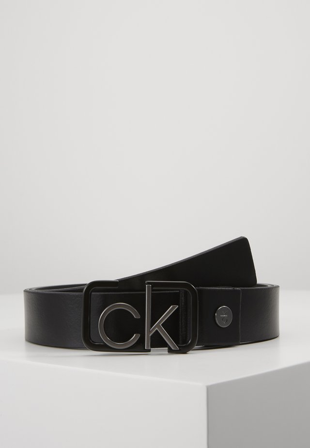 35MM SIGNATURE BUCKL BELT - Pásek - black