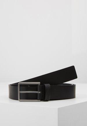 ESSENTIAL BELT - Cinturón - black