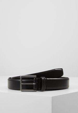 BROGUE BOMBED BELT - Belt - black