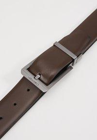 Calvin Klein - BOMBED BELT - Belt - black - 2
