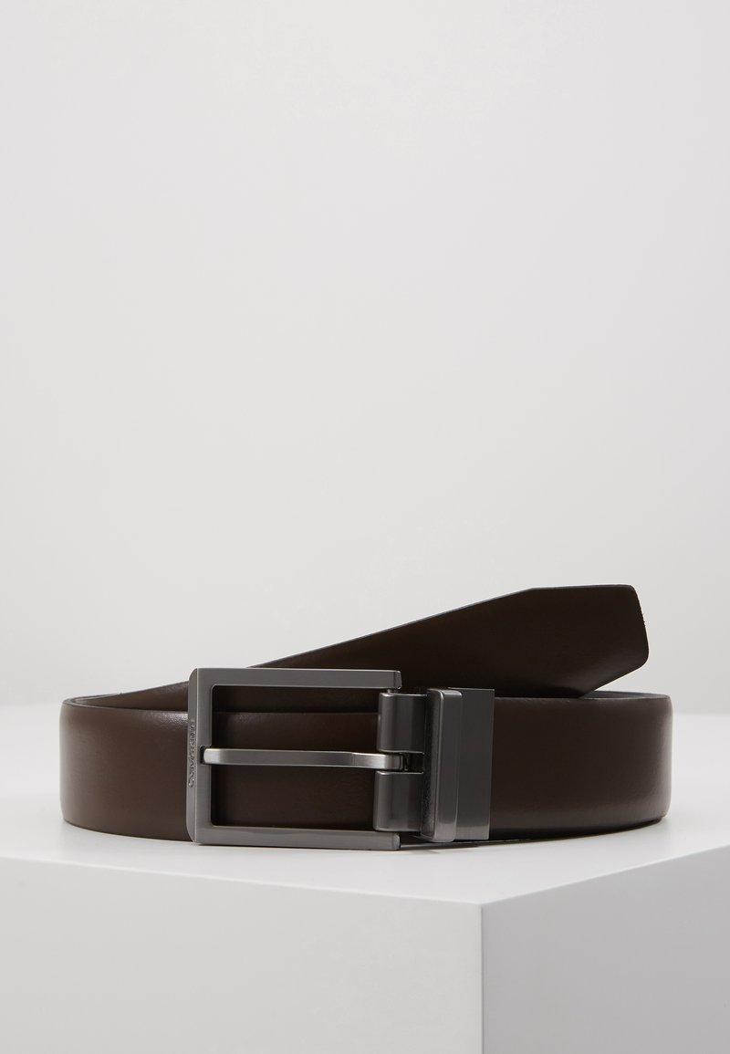 Calvin Klein - BOMBED BELT - Belt - black