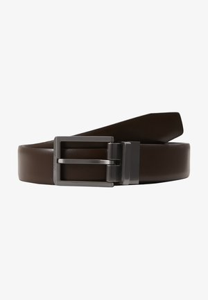 BOMBED BELT - Cinturón - black