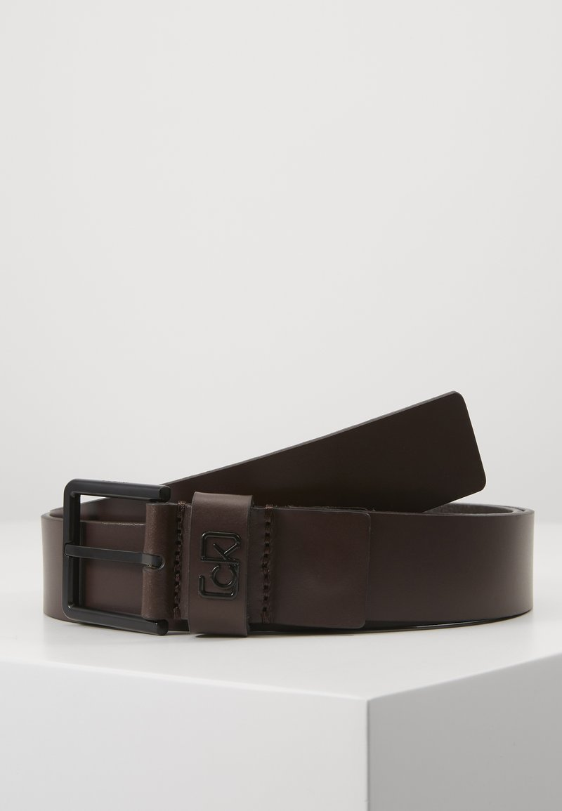 Calvin Klein - 35MM SIGNATURE LOOP BELT - Riem - brown
