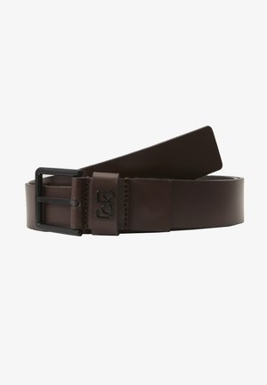 35MM SIGNATURE LOOP BELT - Pásek - brown