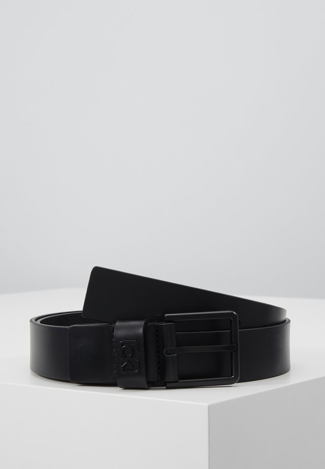 35MM SIGNATURE LOOP BELT - Riem - black