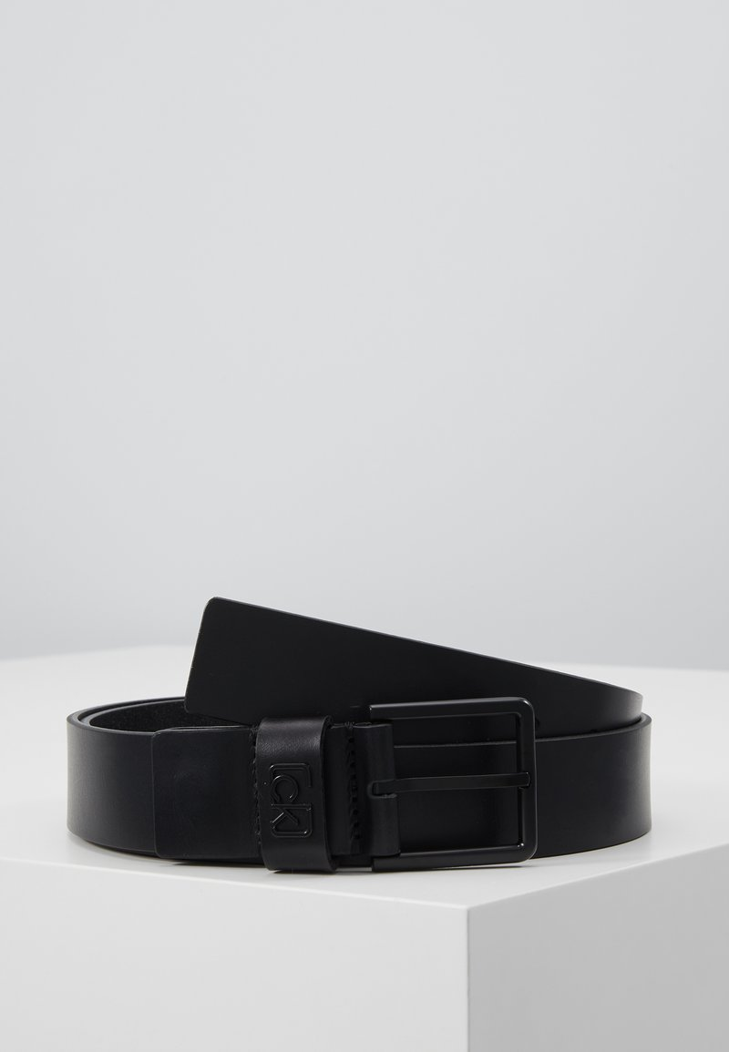 Calvin Klein - 35MM SIGNATURE LOOP BELT - Riem - black