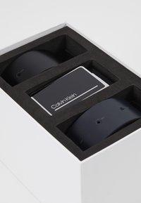 Calvin Klein - PLAQUE STRAPS GIFTSET 2 PACK - Pásek - blue - 6