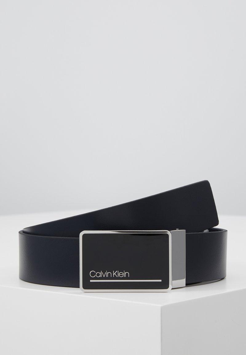 Calvin Klein - PLAQUE STRAPS GIFTSET 2 PACK - Pásek - blue